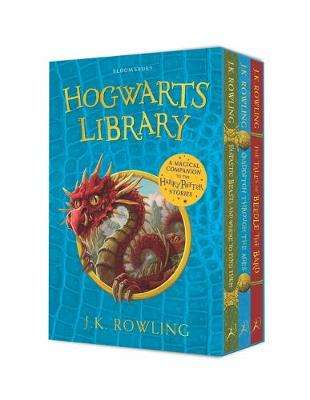 Cover of The Hogwarts Library Box Set - J. K. Rowling - 9781526620309
