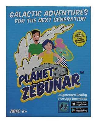 Cover of Planet Zebunar - Dr Norah Patten - 9781527218130