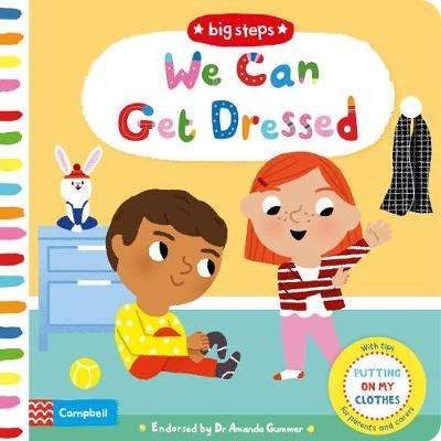 Cover of We Can Get Dressed: Putting on My Clothes - Marion Cocklico - 9781529004014