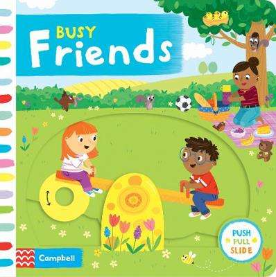 Cover of Busy Friends - Samantha Meredith - 9781529004991