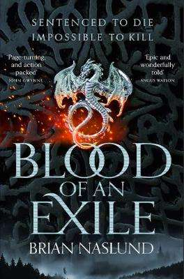 Cover of Blood of an Exile - Brian Naslund - 9781529016147
