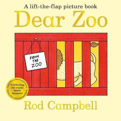 Cover of Dear Zoo - Rod Campbell - 9781529017571