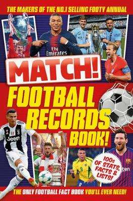 Cover of Match! Record Book - Match - 9781529026726
