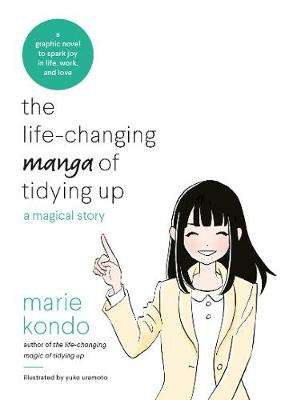 Cover of THE LIFE-CHANGING MANGA OF TIDYING UP - Marie Kondo - 9781529028355