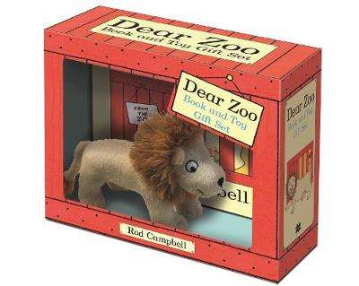 Cover of Dear Zoo Book and Toy Gift Set: Lion - Rod Campbell - 9781529028478
