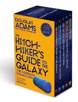 Cover of The Complete Hitchhiker's Guide to the Galaxy Boxset - Douglas Adams - 9781529044195