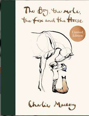 Cover of The Boy, The Mole, The Fox and The Horse Limited Edition - Charlie Mackesy - 9781529109443