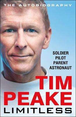 Cover of Limitless: The Autobiography - Tim Peake - 9781529125580