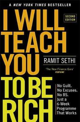 Cover of I Will Teach You To Be Rich - Ramit Sethi - 9781529306583