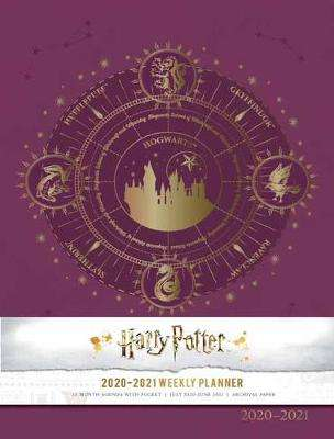 Cover of Harry Potter 2020-2021 Weekly Planner - Insight Editions - 9781647220006