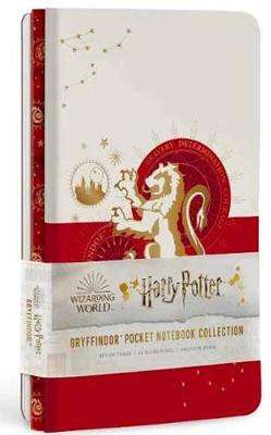 Cover of Gryffindor Constellation Notebook: Set of 3 - Insight Editions - 9781647220884