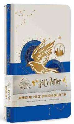 Cover of Harry Potter: Ravenclaw Constellation Sewn Pocket Notebook Collection: Set of 3 - Insight Editions - 9781647220907