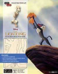 Cover of IncrediBuilds: Disney's The Lion King Book and 3D Wood Model: Exploring the Prid - Sheri Tan - 9781682982358