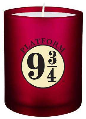 Cover of Harry Potter Platform 9 3/4 Glass Candle - Insight Editions - 9781682982884