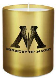 Cover of Harry Potter: Ministry of Magic Glass Votive Candle - Insight Editions - 9781682982891