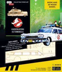 Cover of IncrediBuilds: Ghostbusters:: Ectomobile Book and 3D Wood Model - Insight Editions - 9781682984222