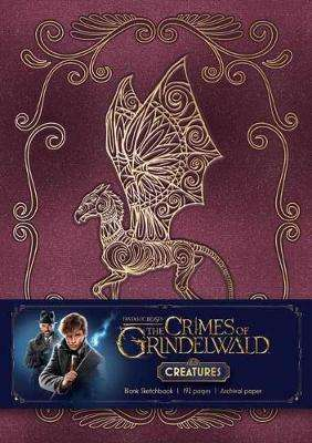 Cover of Fantastic Beasts: The Crimes of Grindelwald Blank Sketchbook - Insight Editions - 9781683833062