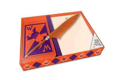 Cover of Harry Potter: Weasleys' Wizard Wheezes: Desktop Stationery Set (With Pen) - Insight Editions - 9781683833437