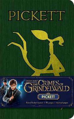 Cover of The Crimes of Grindelwald: Pickett Ruled Pocket Journal - Insight Editions - 9781683836568