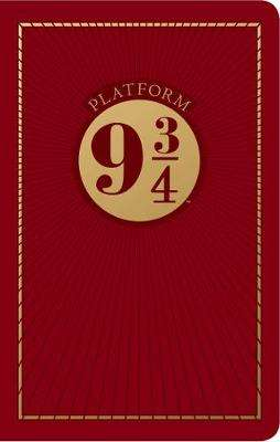 Cover of Harry Potter: Platform Nine and Three-Quarters Travel Journal - Insight Editions - 9781683838968