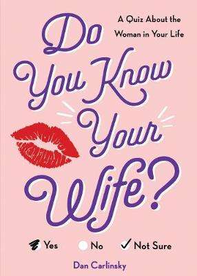 Cover of Do You Know Your Wife?: A Quiz About the Woman in Your Life - Dan Carlinsky - 9781728211299