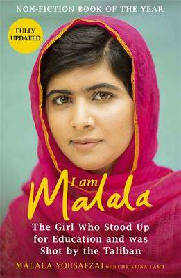 Cover of I Am Malala: The Girl Who Stood Up For Education And Was Shot By The Taliban - Malala Yousafzai - 9781780226583