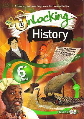 Cover of Unlocking History 6th Class - Simon Lewis Rozz Lewis - 9781780901015