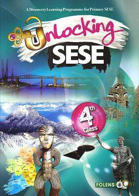 Cover of Unlocking SESE 4th Class - Simon Lewis Rozz Lewis - 9781780902937