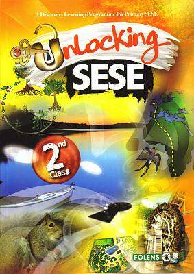 Cover of Unlocking SESE 2nd Class - Rozz Lewis & Simon Lewis - 9781780902999