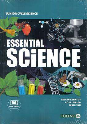 Cover of Essential Science Textbook & Workbook & Student Laboratory Notebook - Declan Kennedy & Rose Lawlor & Sean Finn - 9781780905853