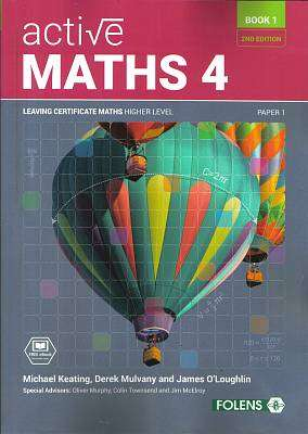 Cover of New Active Maths 4 Book 1 Leaving Certificate Higher Level - Michael Keating - 9781780906386