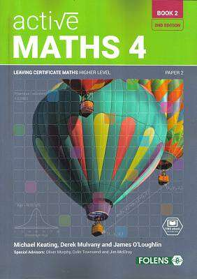 Cover of New Active Maths 4 Book 2 Leaving Certificate Higher Level - Michael Keating - 9781780906393