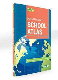Cover of Folens Philip's Post-Primary School Atlas - 9781780906942