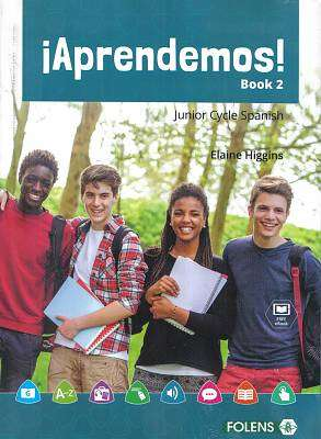 Cover of Aprendemos! 2 Text & Workbook - Elaine Higgins - 9781780909615