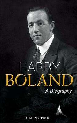 Cover of Harry Boland - Jim Maher - 9781781176603