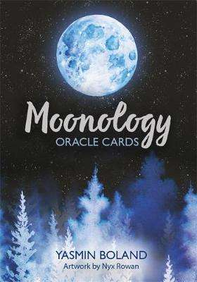 Cover of Moonology Oracle Cards: A 44-Card Deck and Guidebook - Yasmin Boland - 9781781809969