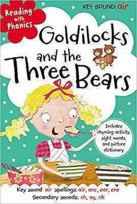 Cover of Goldilocks and the Three Bears - Thomas Nelson - 9781782357476