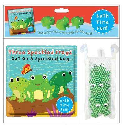 Cover of Three Speckled Frogs Sat on a Speckled Log - Bath Book - North Parade - 9781783730742