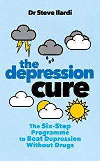 Cover of The Depression Cure: The Six-Step Programme to Beat Depression Without Drugs - Steve Ilardi - 9781785042515