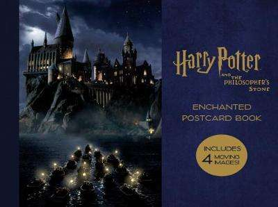 Cover of Harry Potter and the Philosopher's Stone Enchanted Postcard Book - 9781785657412