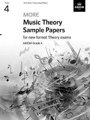 Cover of More Music Theory Sample Papers Grade 4 - Abrsm - 9781786014467