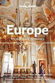 Cover of Lonely Planet Europe Phrasebook & Dictionary - Lonely Planet - 9781786576316