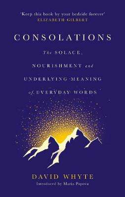 Cover of Consolations: The Solace, Nourishment and Underlying Meaning of Everyday Words - David Whyte - 9781786897633