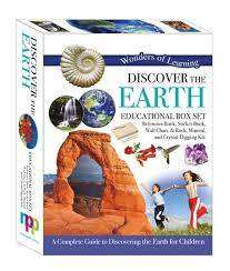 Cover of Discover The Earth - Boxed Activity Set - Wonder of Learning - 9781786900357