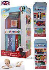 Cover of EARLY LEARNING BOXED SET - FIRST WORDS CLAUDIA - Robert Fredrick - 9781786900517