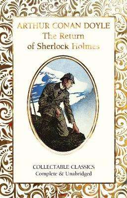 Cover of The Return of Sherlock Holmes - Sir Arthur Conan Doyle - 9781787557932