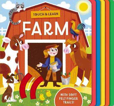 Cover of Touch and Learn Farm - Becky Davies - 9781788816922