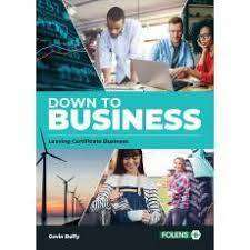 Cover of Down to Business Leaving Cert - Gavin Duffy - 9781789270815