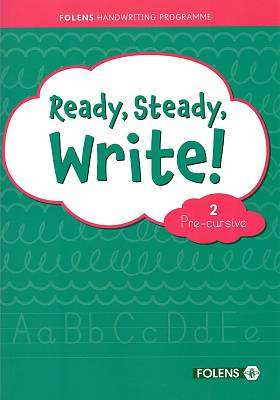 Cover of Ready, Steady, Write! 2 Pre-Cursive Pupil Book - Lynn Fitzpatrick - 9781789279641