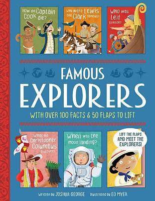 Cover of Famous Explorers - Joshua George - 9781789584363